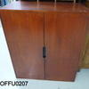 3'10'' X 3' Devon Teak 2 Door Cabinet[Stained]  (50s)