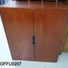 3'10'' X 3' Devon Teak 2 Door Cabinet[Stained]  (50s)