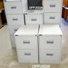 Silverline Pale Grey 2 Drawer Filing Cabinet
