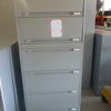 Pale Grey Metal 6 Drawer Wide Lateral Mkb File Cabinets