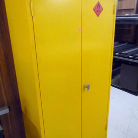 Yellow 2 Door Flammable Storage Cabinet 1815 X915 Mm