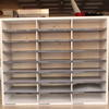 Grey Card Pigeon 24 Hole Shelving Unit