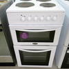 Belling White Double Oven Electric Cooker