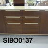 Mariani Pao Doble Walnut & Hide Credenza