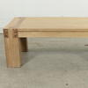 Vmf Solid Chunky Oak Bobo Coffee Table