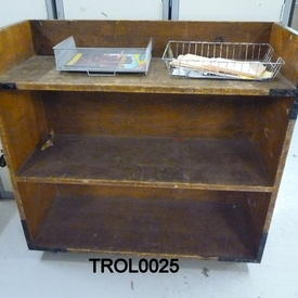 3 Tiered Mobile Library Trolley