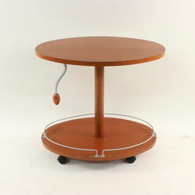 Caligaris Cherry 2 Tier Oval Trolley