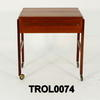 70's Rosewood 1 Drawer  Side  Trolley