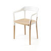 Beech & White 'steelwood' Dining Chair