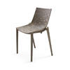 Brown Fibre Zartan Raw Starck Dining Chair