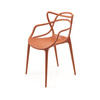 Rusty Red ''masters'' Dining Chair ( H: 84cm W: 57cm D: 47cm )