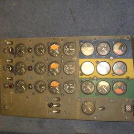 Aircraft Guage Panel