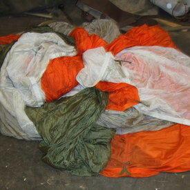 Aircraft Parachute Silks