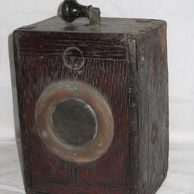 Wooden Morse Code Tapper 20cmx14cmx11cm
