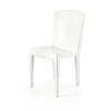 Rs White Lacqured Metro Dining Chair