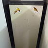 Hotpoint Cream & Brown Trim 5' Fridge