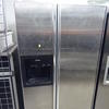 Scholtes S/Steel Side By Side Fridge/Freezer