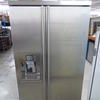 Smeg Stainless Steel Side By Side Fridge/Freezer