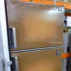 Brown Husqvana 3 Door  Fridge/Freezer