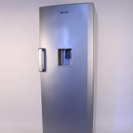 6' Beko Silver Backless Fridge with Front Drink Dispenser