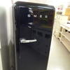 Smeg Matt Black Fab 28 Fridge