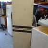 163 X 50 Electra Brown And Cream Fridge Freezer