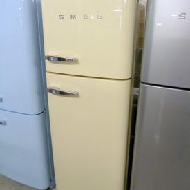 170Cm X 60Cm X 67Cm Cream Smeg Fridge/Freezer