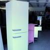 59x61x200 Miele Fr./Freezer White W.Grey Handles