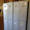 "6' X 1'3"" X 1' Galvanised  Metal Mkb 2 Door Vented Lockers"