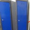 6' X 1' X 1' Graphite/Blue 'silverline' 2 Door Metal Locker