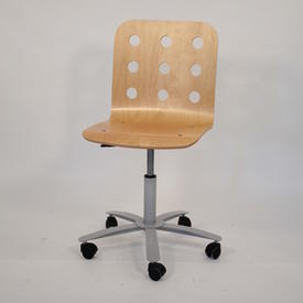 Ikea Ass Colour Perforated Ply Occ Swivel Chair