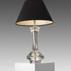 Seattle Crystal Lamp With Black Shade