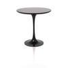 "Circ Black ""Saarinen"" Lamp Table (52 Cm H X 50 Cm)"