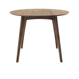"Circular Walnut ""Osso"" Dining Table"