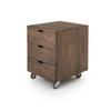 Walnut Office' Billy' 3 Drawer Unit