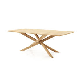 "Rect Oak Wood ""Mikado"" Dining Table"