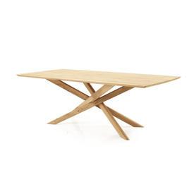 "Rect Oak Wood ""Mikado"" Dining Table"