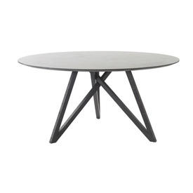 "Circular Grey Mineral ""Spider"" Dining Table"