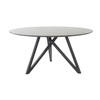 Circular Grey Mineral 'spider' Dining Table