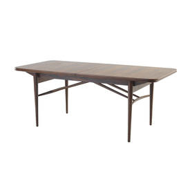 Rosewood 60S Dining Table on Spindle Legs
