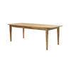Elm Wood ' Carmargie ' Dining Table (90 Cm X 220 Cm X 76 Cm )