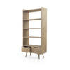Pale Wooden Redford Bookcase