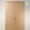 Ffc Beech 2 Door Tall Cupboard