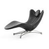 Black Leather Le Male Chaise