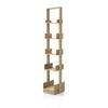 """5 Tier Slim Oak Wooden """"Bookie"""" Shelf Unit ( H: 154cm W: 30cm D: 32cm )"""
