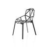 Black Metal Chair One Dining Chair