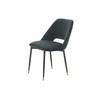 Dark Green Velvet 'andrew' Dining Chair