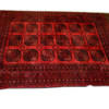 "11' X 8'9"" Red & Black Afghan Carpet  (Y)"
