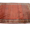 "12'4"" X 9' Red & Blue Kazak Carpet  (Y)"