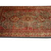 "10' X 6'7"" Red & Green Hamadan Carpet  (Y)"